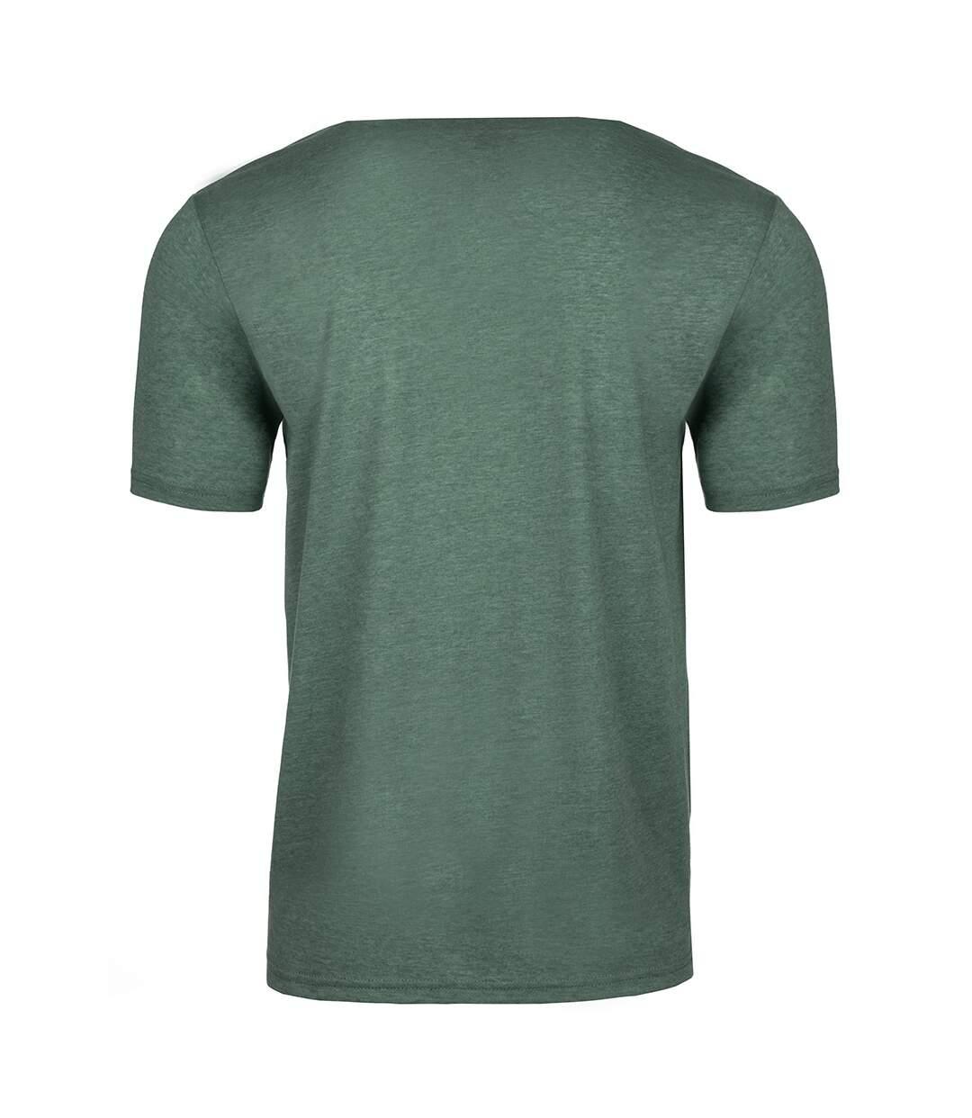 Next Level Mens Short-Sleeved T-Shirt (Royal Pine) - UTPC4182