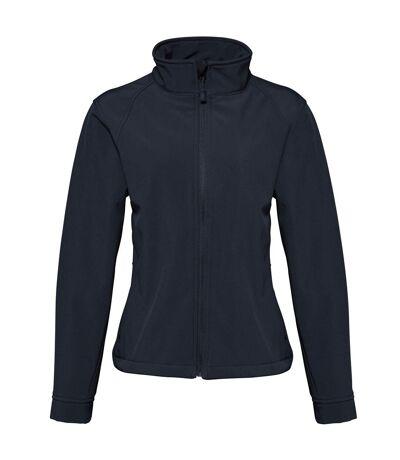 2786 Womens/Ladies 3 Layer Softshell Performance Jacket (Wind & Water Resistant) (Black) - UTRW2503