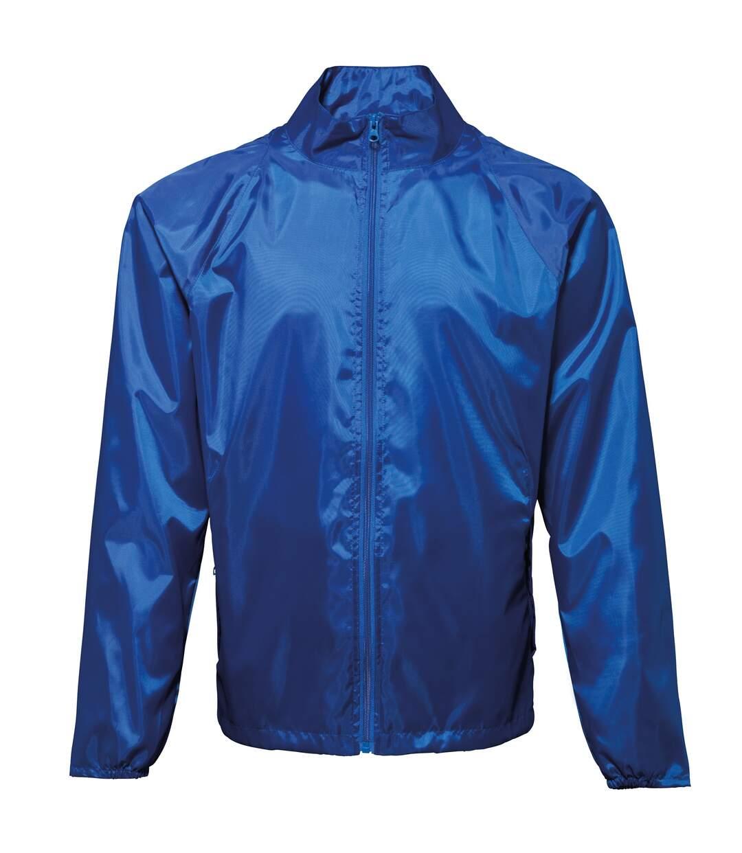 2786 Unisex Lightweight Plain Wind & Shower Resistant Jacket (Yellow) - UTRW2500