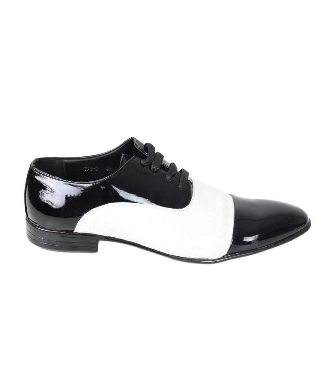 Grande Vente Chaussures Bi-colore vernis dsf.d455nksdKLFHG