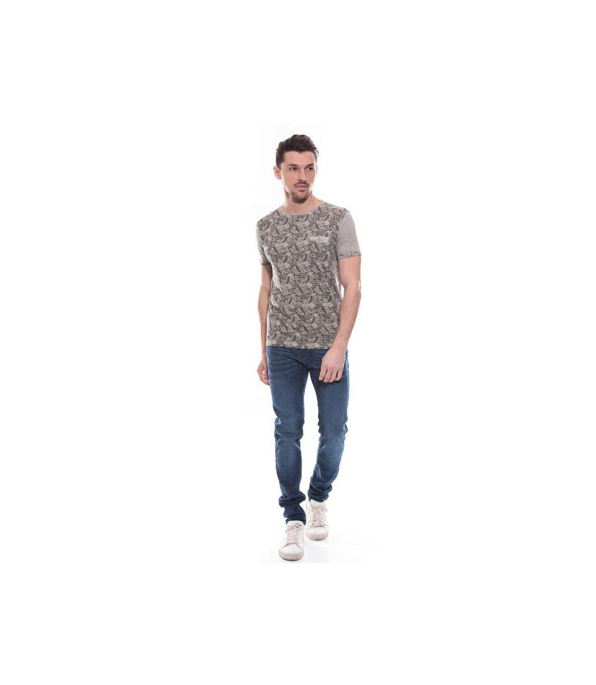 T-shirt col rond en coton NAGOYA - RITCHIE