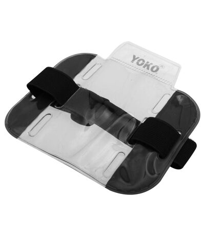 Yoko ID Armbands / Accessories (Pack Of 4) (Black) (One Size) - UTBC4156