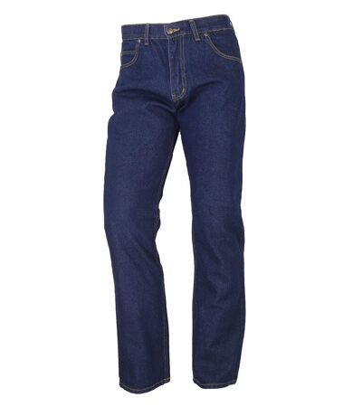 FALCONE2 JEANS 5 POCHES ZIP WESTERN BRUT LAVE