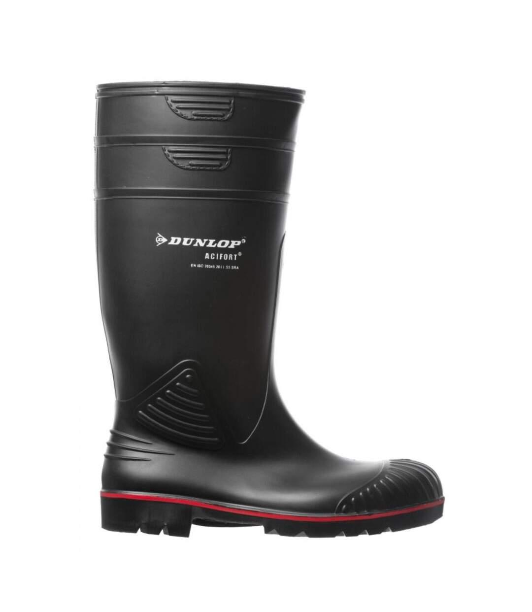 Grande Vente Botte de sécurité Dunlop Acifort S5 SRA-NOIR-47 dsf.d455nksdKLFHG