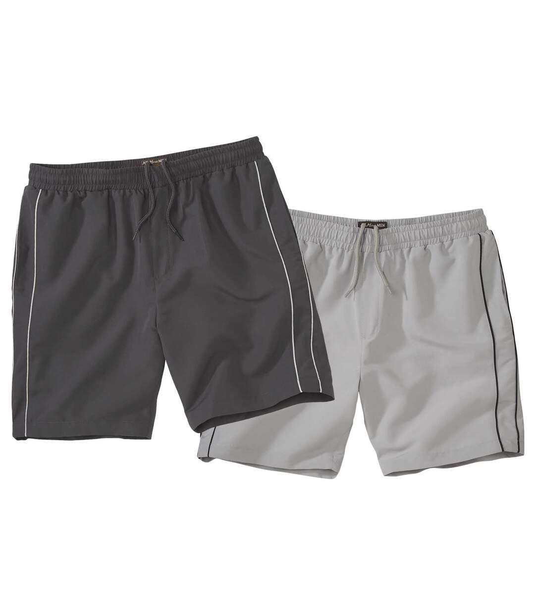 2er-Pack Shorts Sunny aus Microfaser