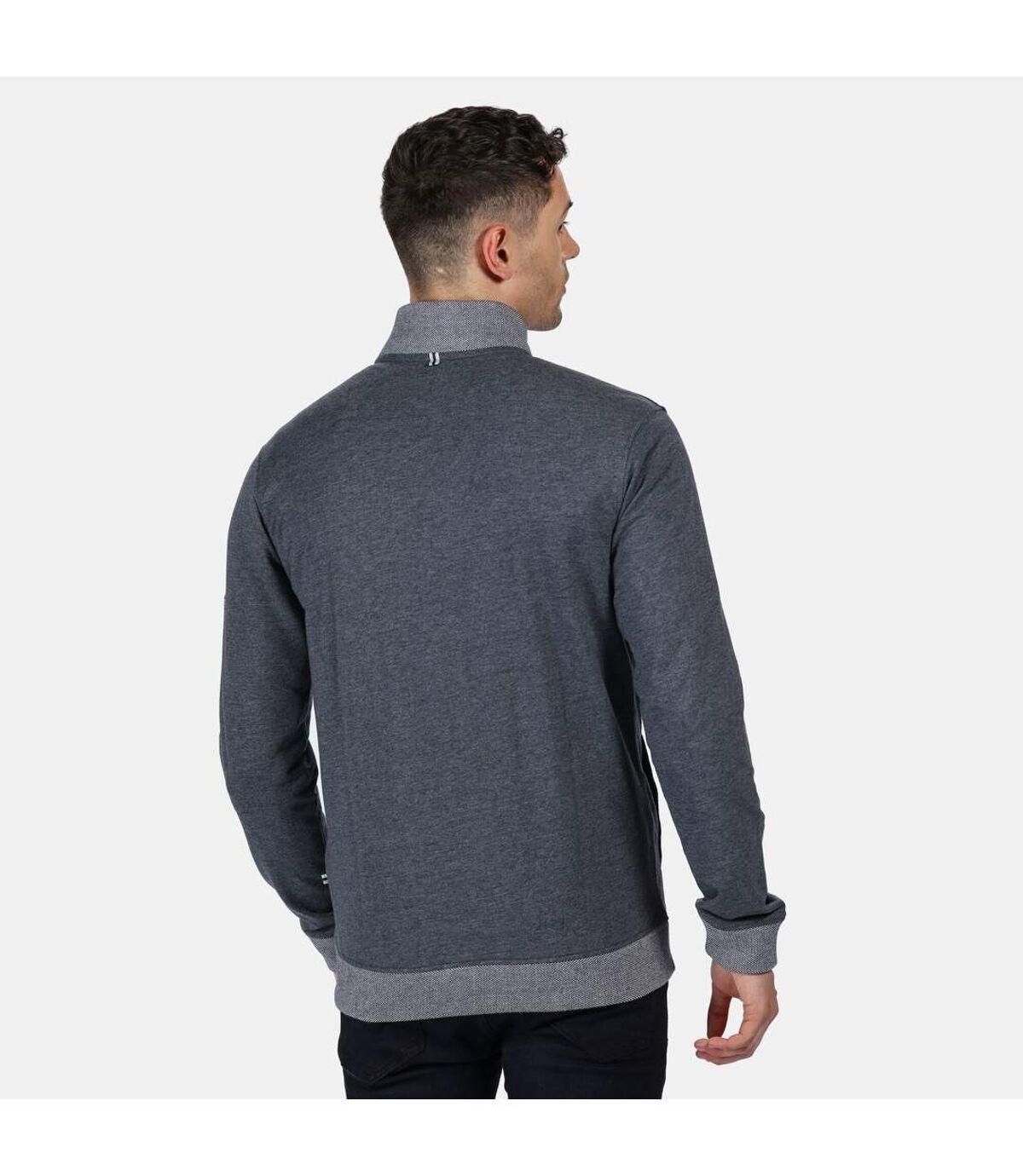 Regatta Mens Everard Full Zip Fleece (Navy Marl) - UTRG5048
