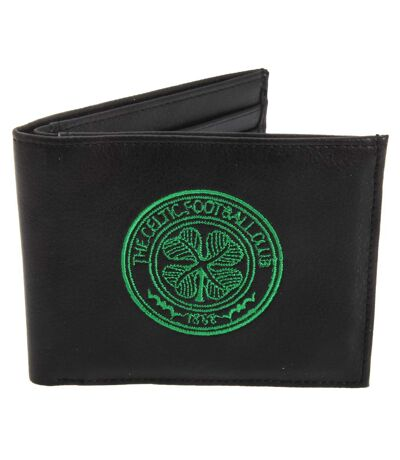 Celtic FC - Portefeuille officiel en cuir (Noir) (Taille unique) - UTSG527