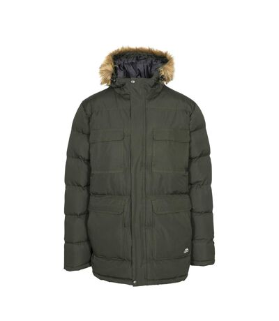 Trespass Mens Baldwin Padded Waterproof Jacket (Olive) - UTTP4248