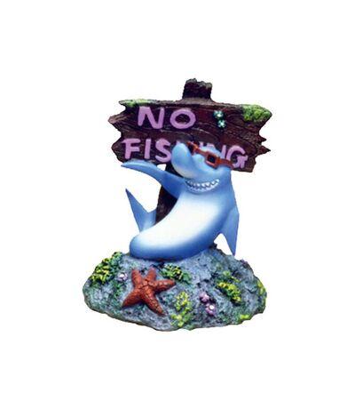 Rosewood - Décoration en résine - Aquarium (Bleu/Gris) (Taille unique) - UTVP726