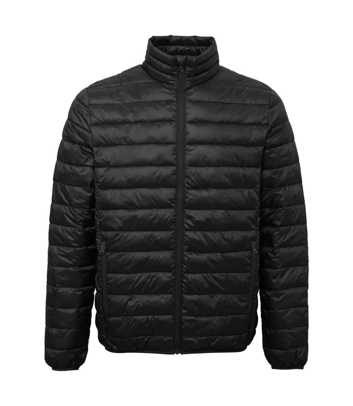 2786 Mens Terrain Long Sleeves Padded Jacket (Black) - UTRW6282