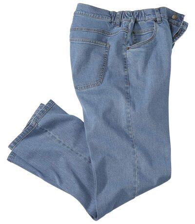 Regular-Jeans Comfort Blue mit Stretch-Effekt