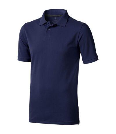 Elevate Mens Calgary Short Sleeve Polo (Pack of 2) (Navy) - UTPF2498