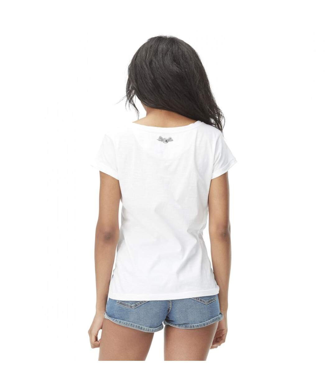 T-shirt femme col large Lou