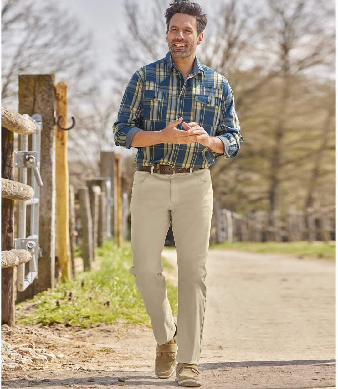 Súprava 2 pohodlných strečových nohavíc Atlas For Men