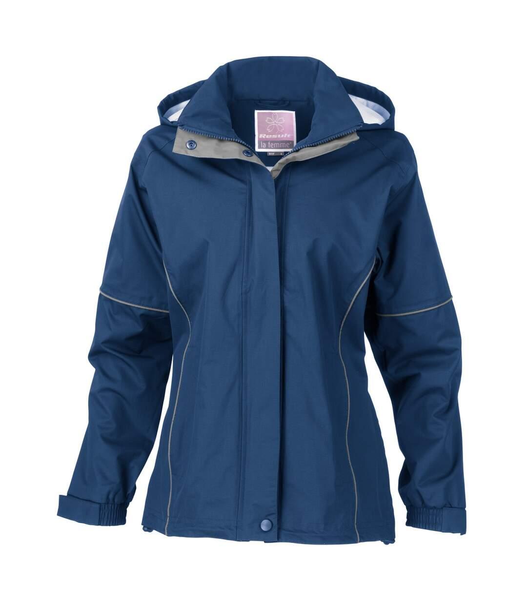 Result Womens/Ladies Urban Fell Lightweight Technical Jacket (Waterproof & Windproof) (Royal) - UTBC3049