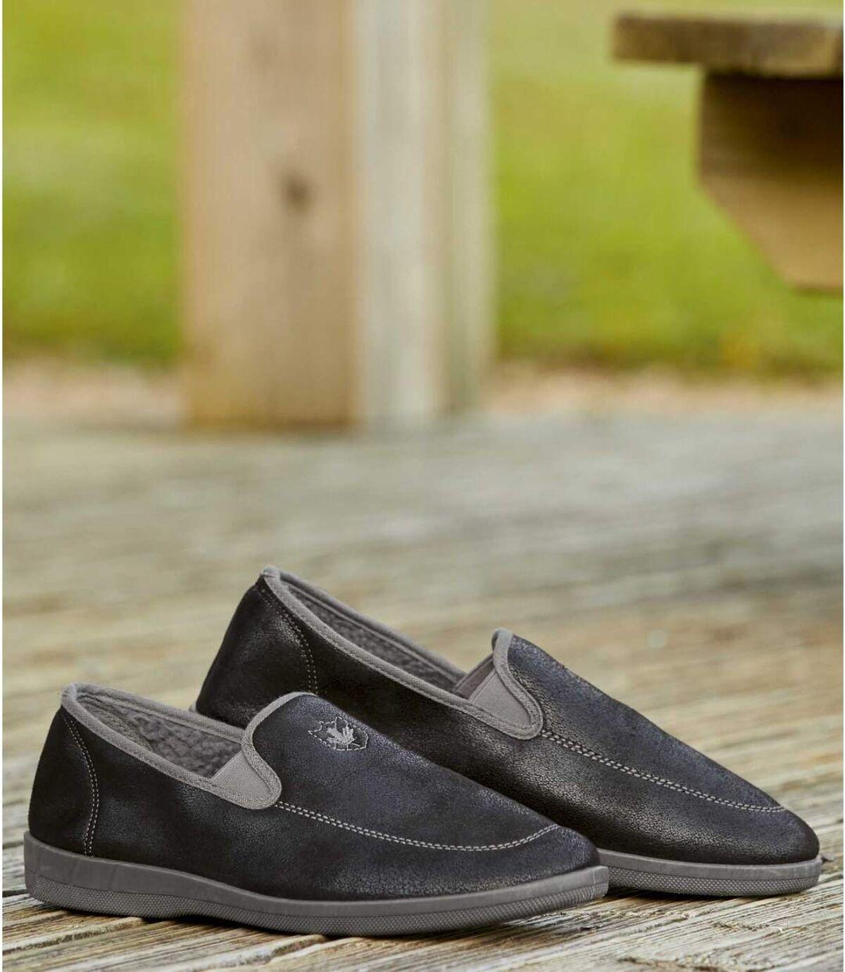 Semišové pánske papuče Atlas For Men