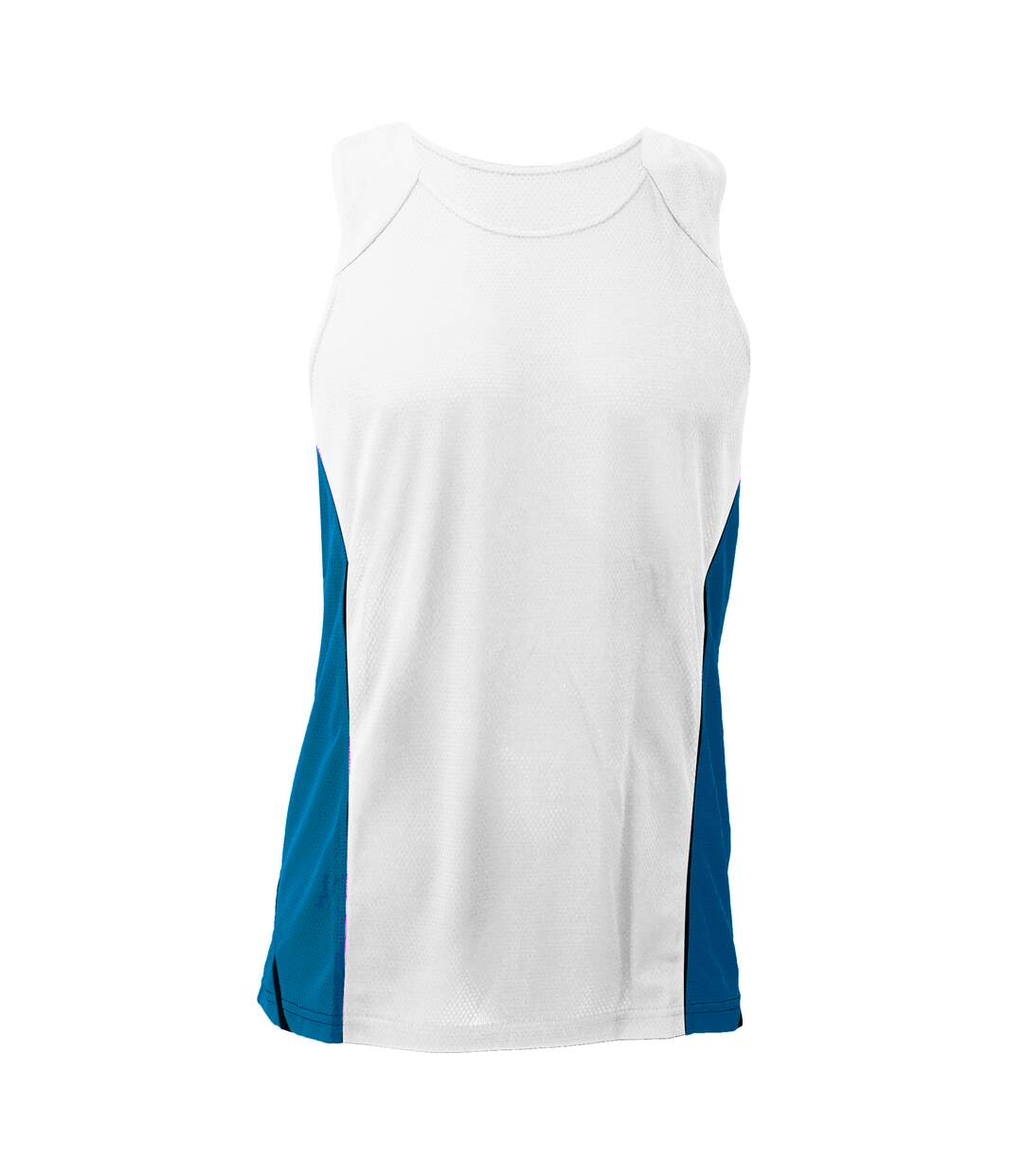 Gamegear® Mens Cooltex® Sports Sleevless Vest Top / Mens Sportswear (Black/Red) - UTBC433