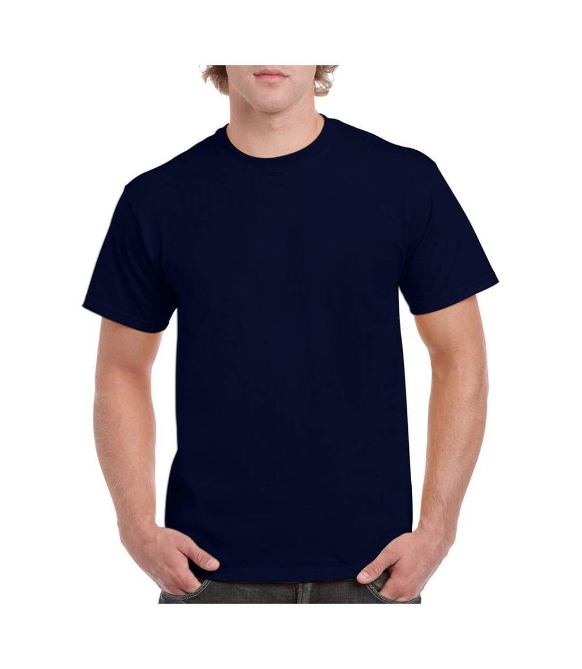 Gildan - T-shirt à manches courtes - Homme (Gris acier) - UTBC481