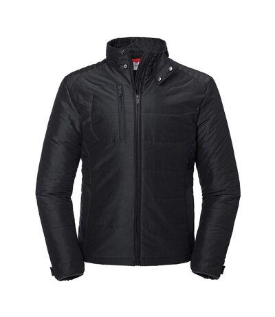 Russell Mens Cross Padded Jacket (Black) - UTPC4109