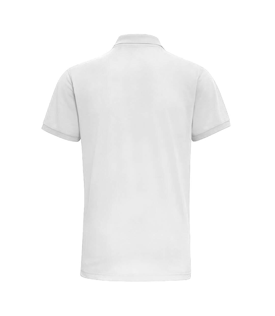 Asquith & Fox Mens Short Sleeve Performance Blend Polo Shirt (White) - UTRW5350