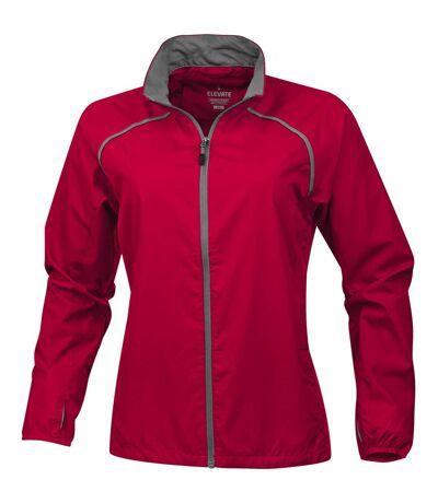 Elevate Womens/Ladies Egmont Packable Jacket (Red) - UTPF1863