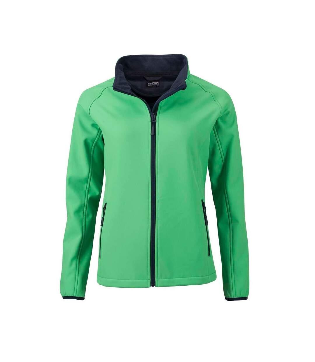 Veste softshell performance R230F Femme vert – Soldes