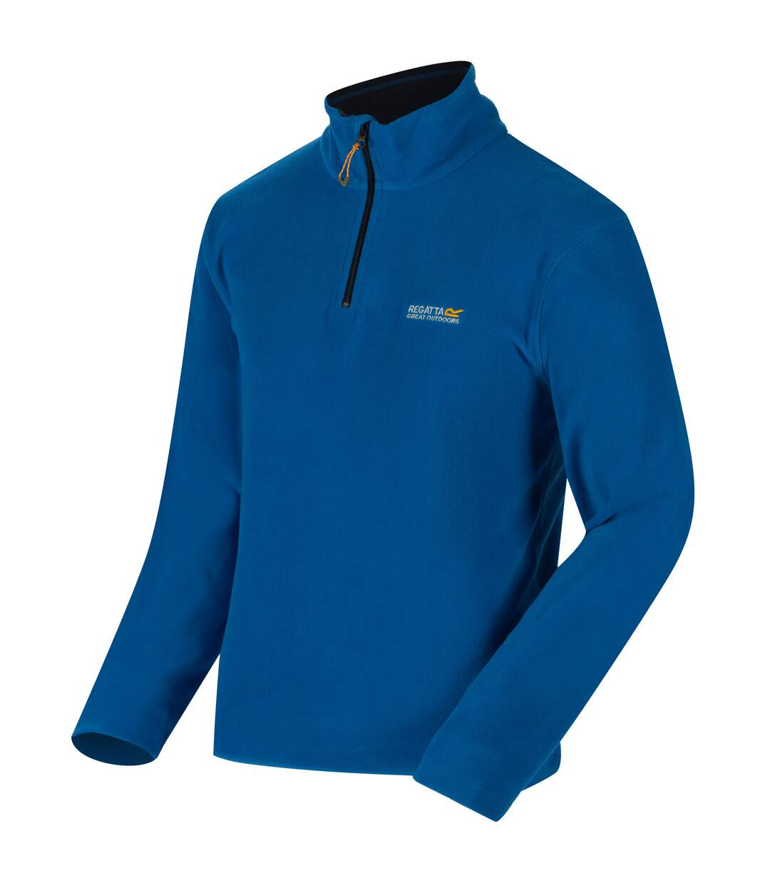 Regatta Great Outdoors Mens Thompson Half Zip Fleece Top (Oxford Blue/Navy) - UTRG1390