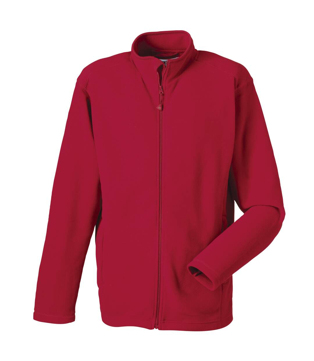 Russell Europe Mens Full Zip Anti-Pill Microfleece Top (Classic Red) - UTRW3282