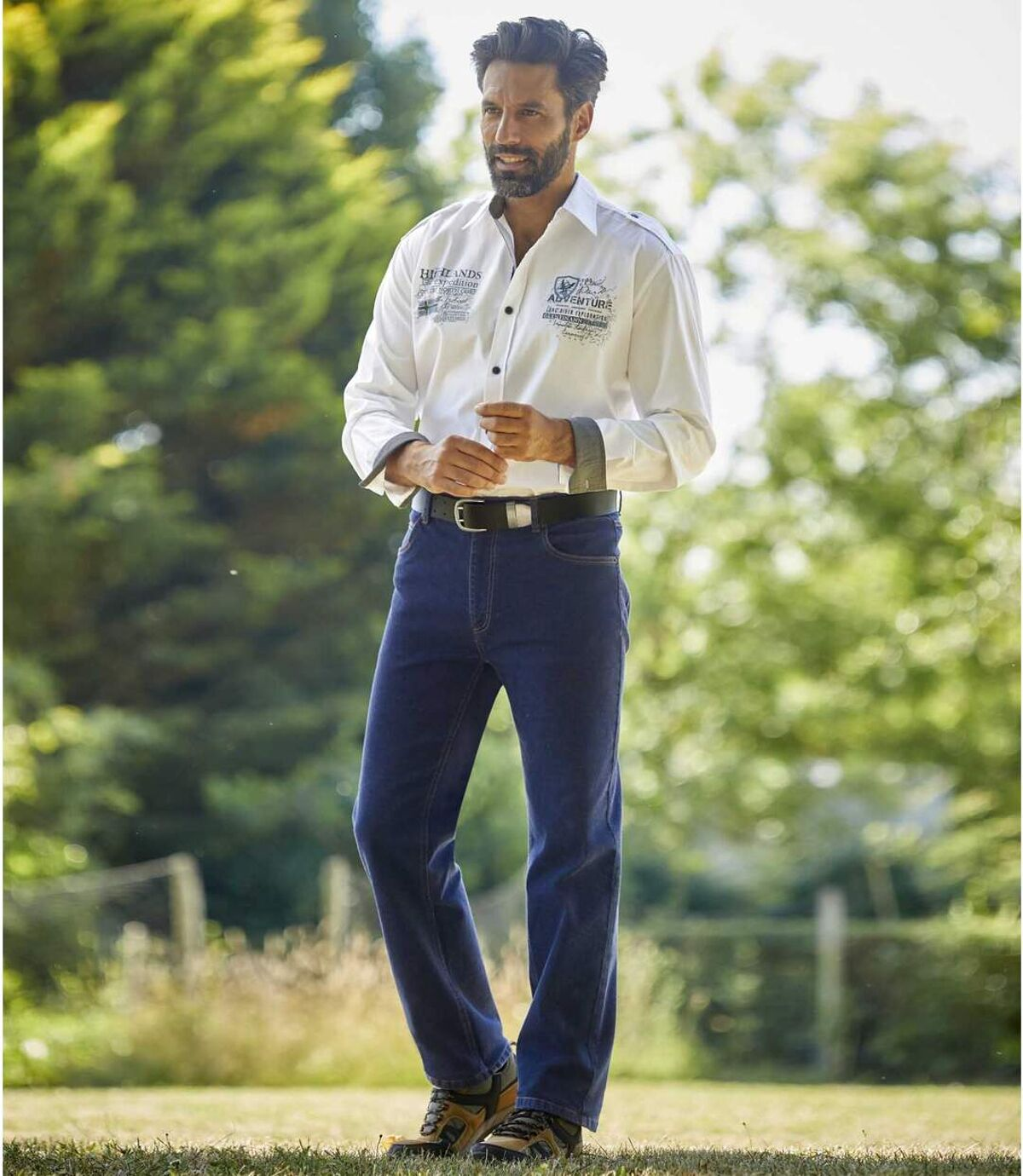 Jean Stretch Maxi Confort  Atlas For Men