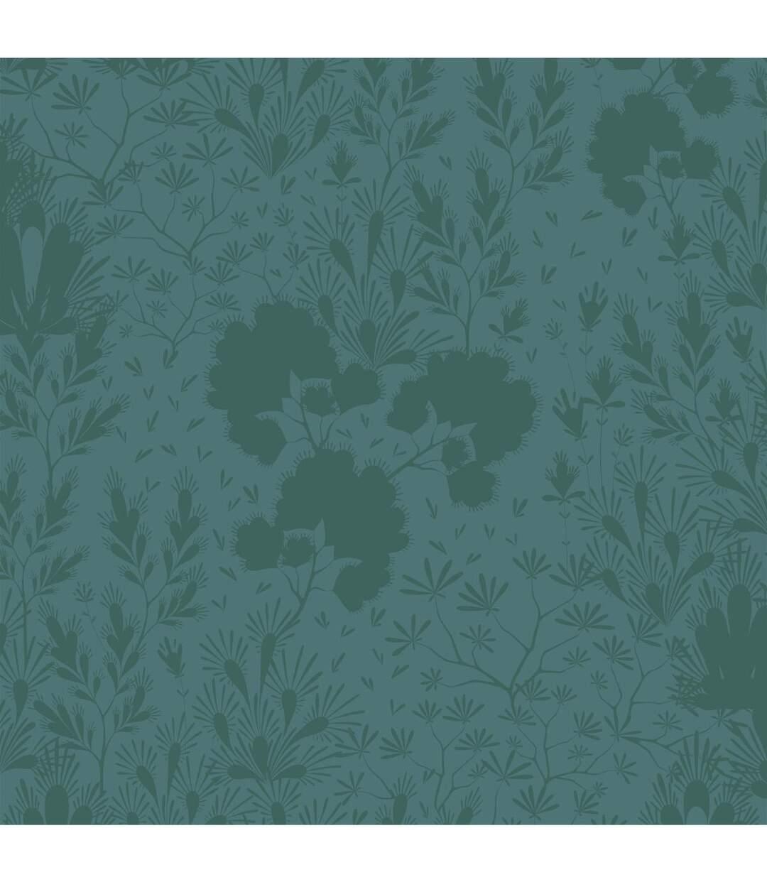 Atmosphera - Parure de lit 2 Personnes 260 x 240 cm Housse de couette avec 2 taies Imprimée Feuillage