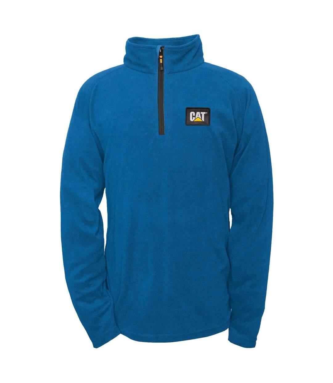 Caterpillar Mens Concord Fleece Pullover (Blue) - UTFS5049
