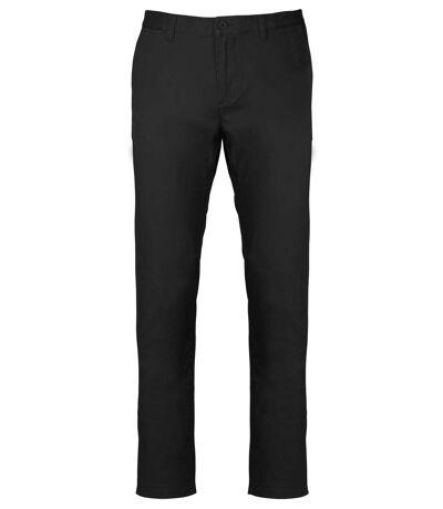 pantalon chino pour homme - K740 - noir
