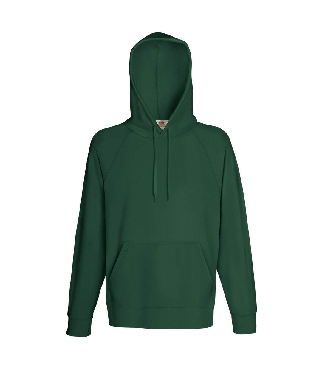 Fruit Of The Loom Mens Lightweight Hooded Sweatshirt / Hoodie (240 GSM) (White) - UTBC2654
