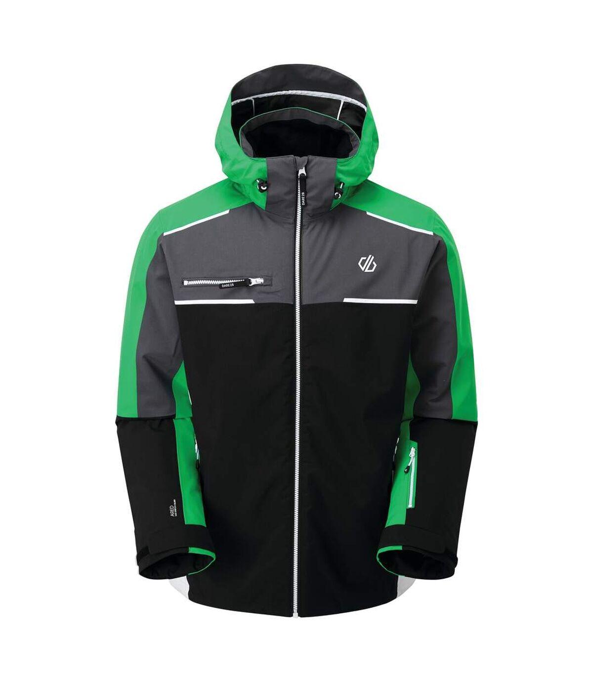 Dare 2B - Blouson de ski INTERMIT - Homme (Noir/vert vif) - UTRG5514