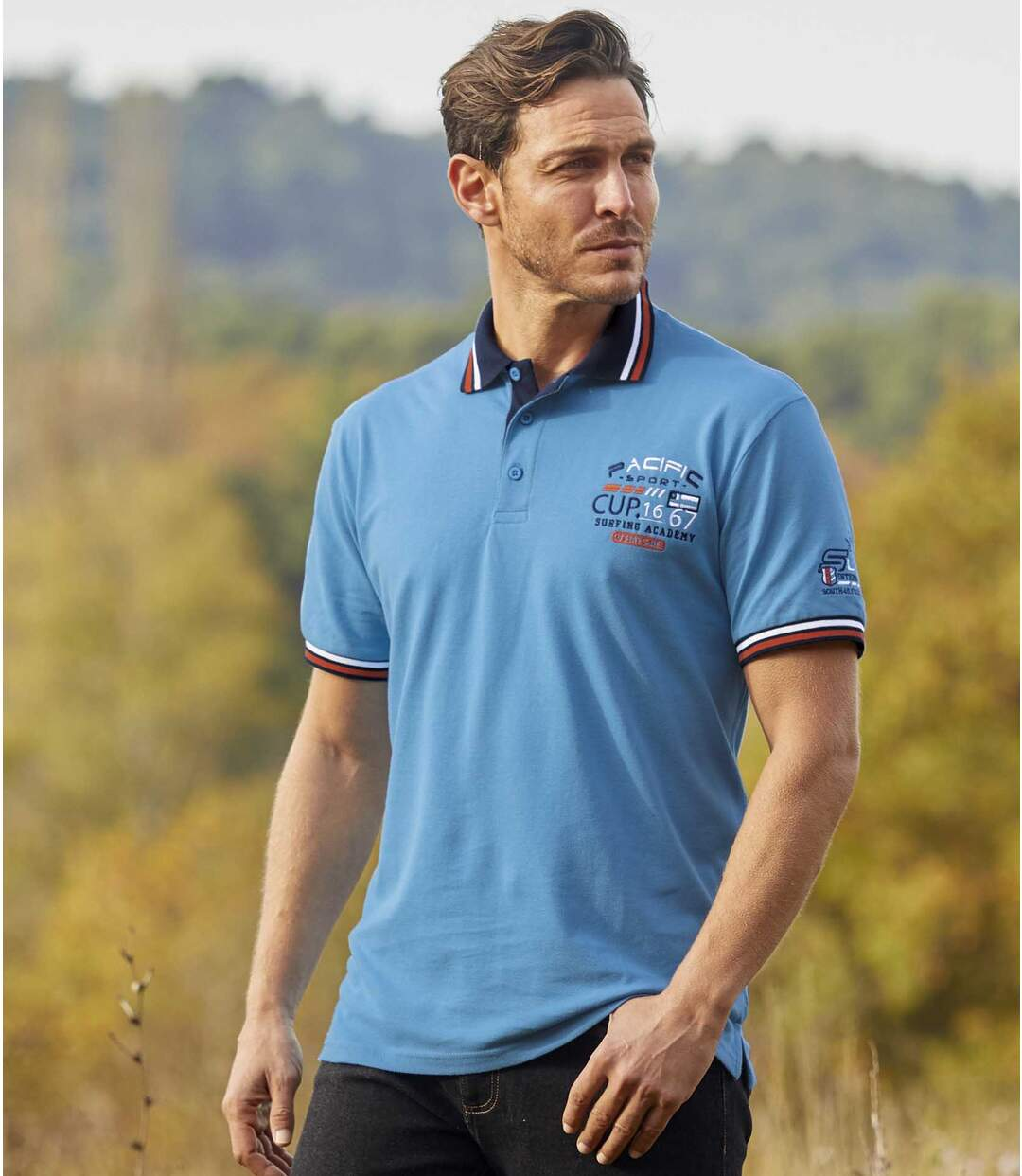 2er-Pack Poloshirts Pacific Surf