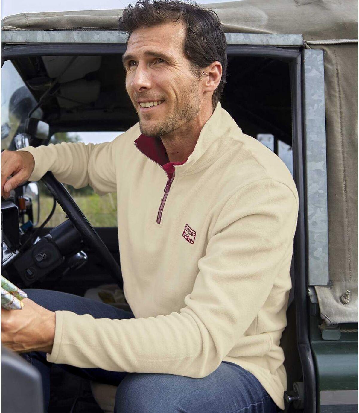 2er-Pack Microfleece-Pullover Trekking mit RV-Krag Atlas For Men