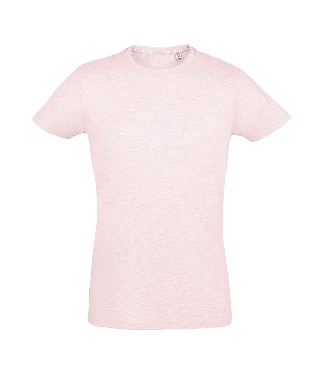 SOLS Mens Regent Slim Fit Short Sleeve T-Shirt (Heather Pink) - UTPC506