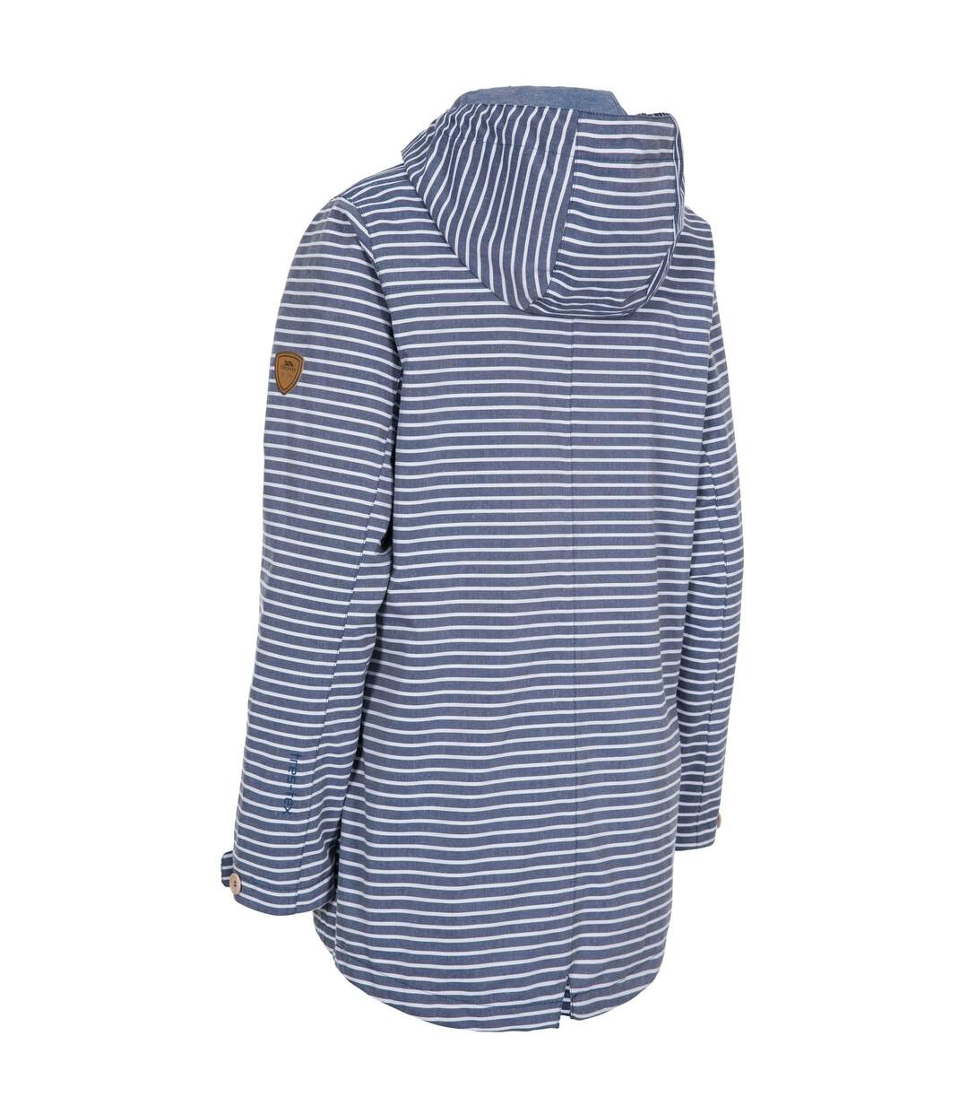 Trespass Womens/Ladies Offshore Waterproof Jacket (Navy Stripe) - UTTP5008