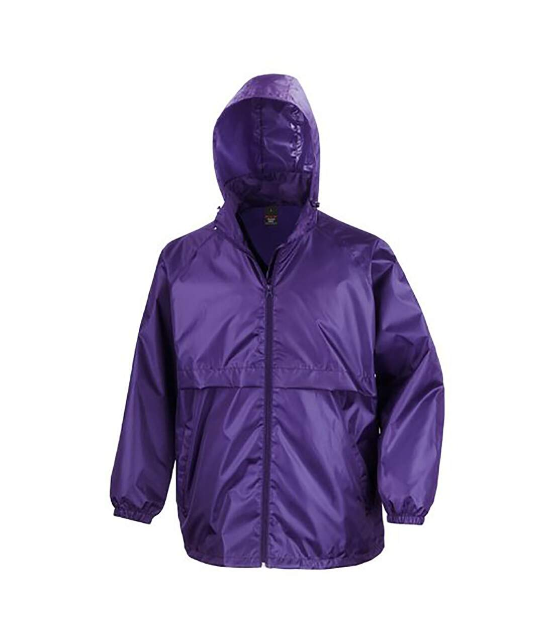 Result Mens Core Adult Windcheater Water Repellent Windproof Jacket (Royal) - UTBC897