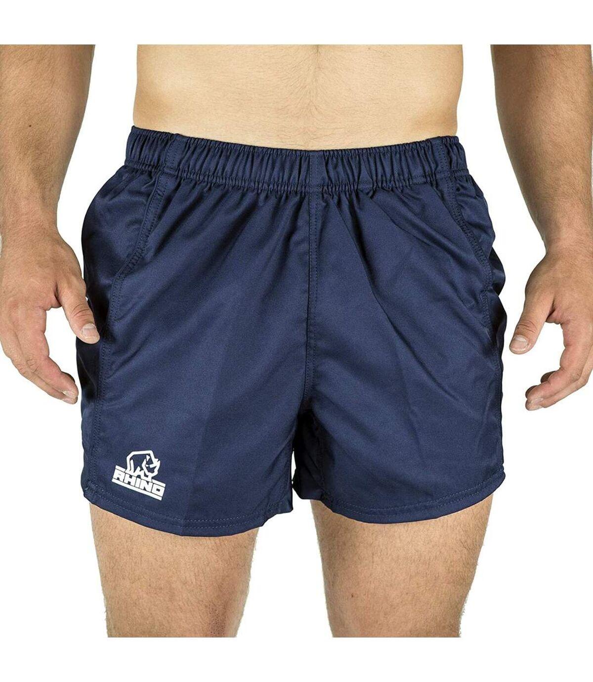 Rhino Mens Auckland Rugby Shorts (Navy) - UTRW6465
