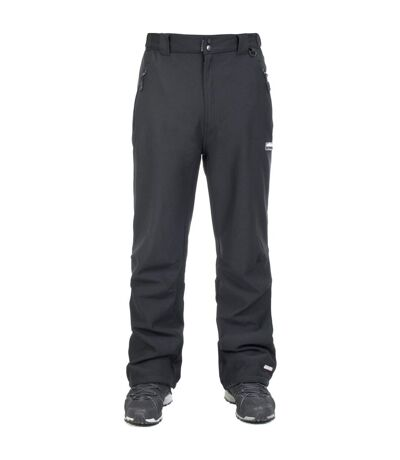 Trespass Mens Hemic Water Resistant Softshell Trousers (Black) - UTTP221