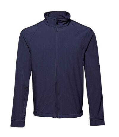 2786 Mens 3 Layer Softshell Performance Jacket (Windproof & Water Resistant) (Navy) - UTRW2502