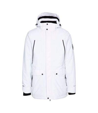 Trespass Mens Harris Waterproof Jacket (White) - UTTP5246