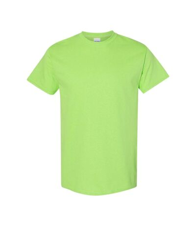 Gildan Mens Heavy Cotton Short Sleeve T-Shirt (Pack Of 5) (Navy) - UTBC4807