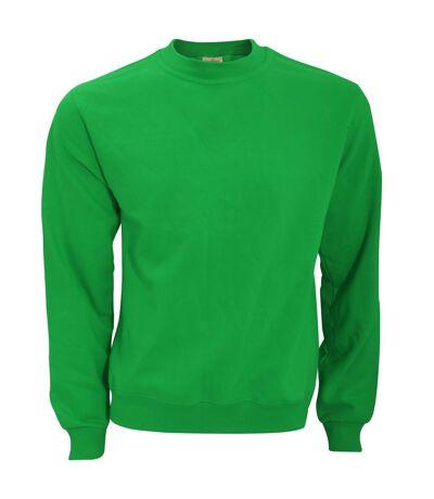 B&C Mens Crew Neck Sweatshirt Top (Anthracite) - UTBC1297