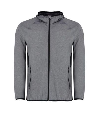 Gamegear Mens Fashion Fit Sports Jacket (Grey Melange/Black) - UTRW7103