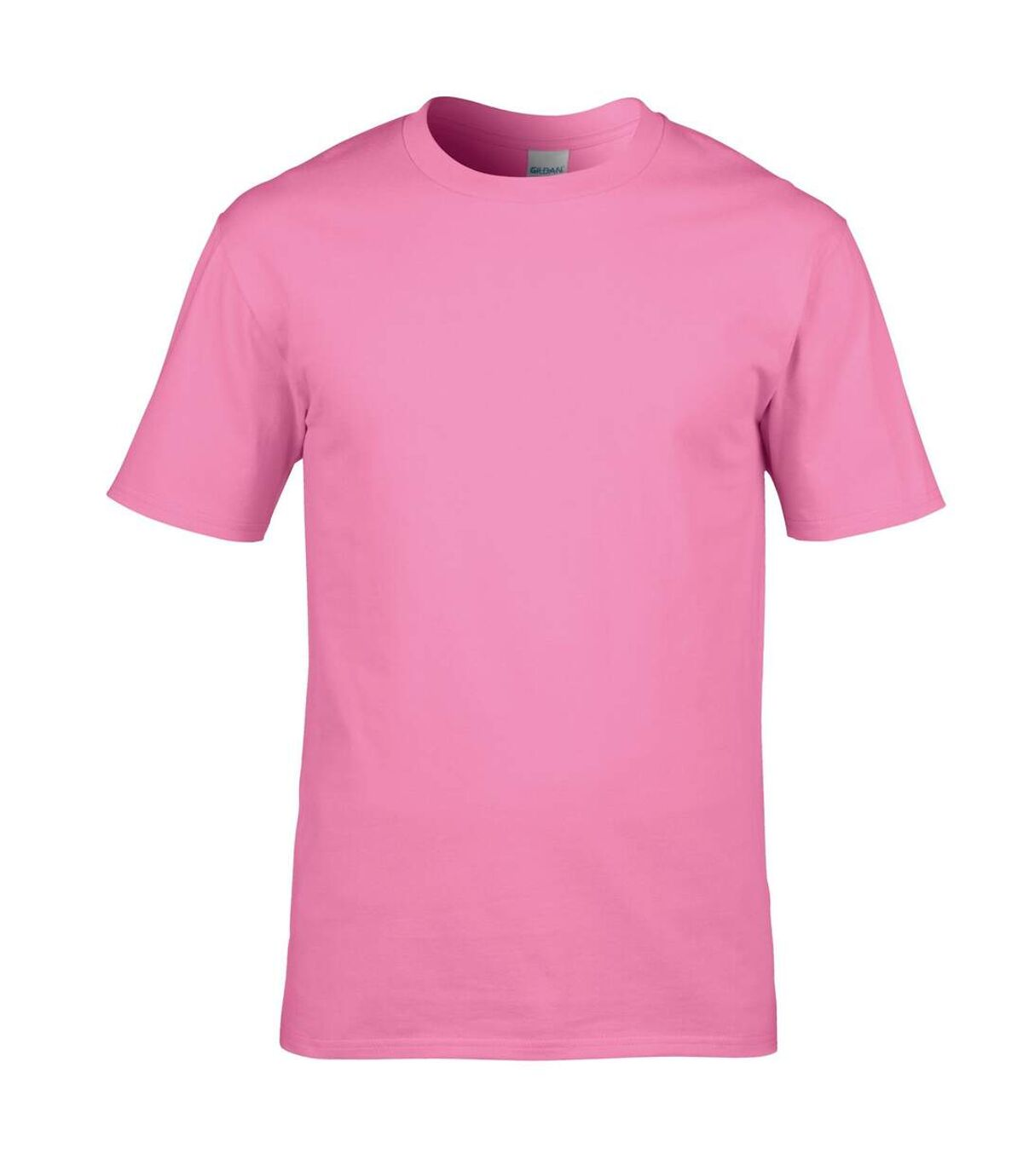 Gildan Mens Premium Cotton Ring Spun Short Sleeve T-Shirt (Azalea) - UTBC480