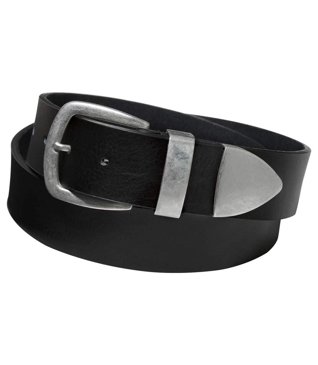 Pasek Black & Silver