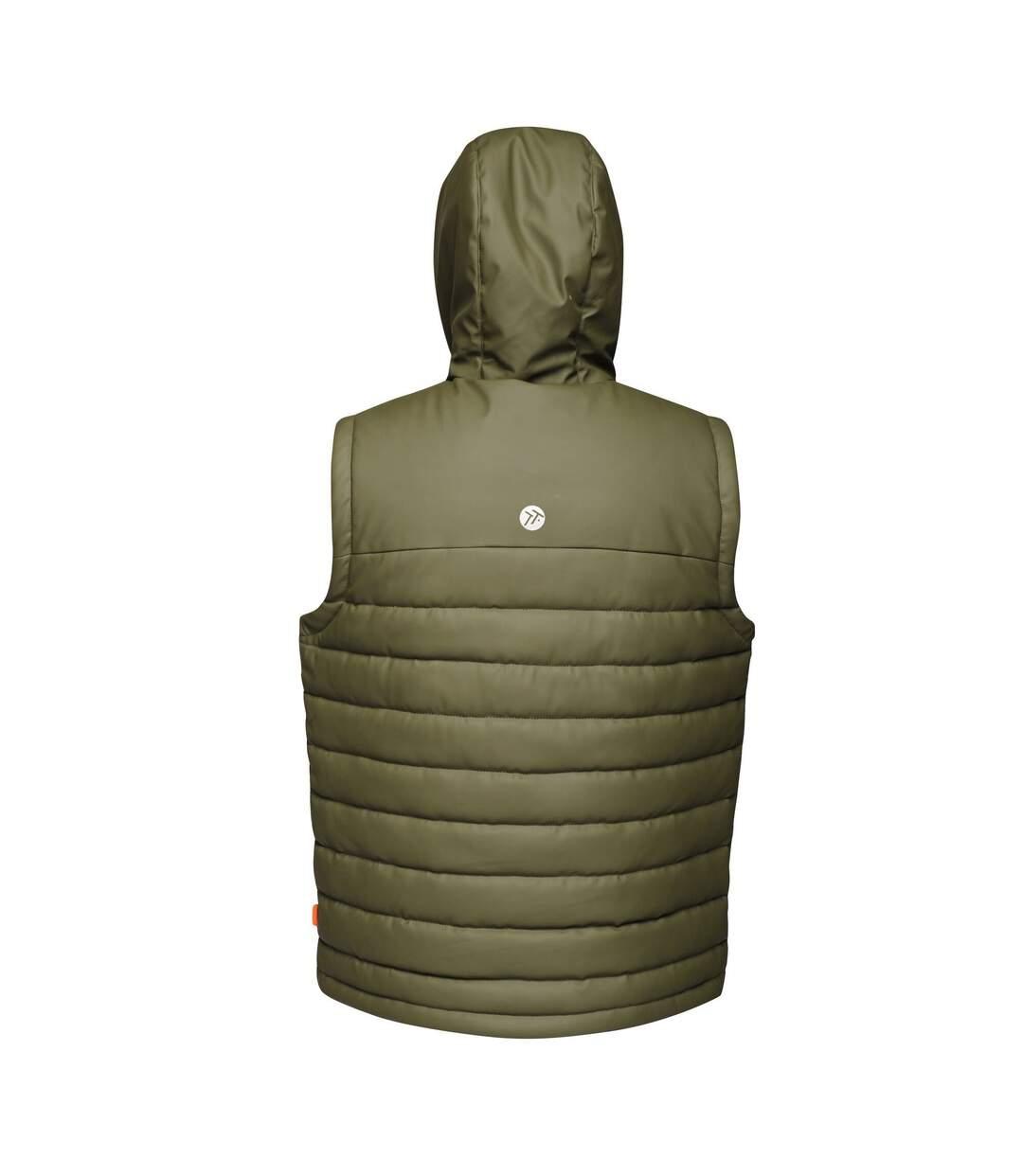 Regatta Tactical Threads Mens Calculate Insulated Bodywarmer (Dark Khaki) - UTRG3805
