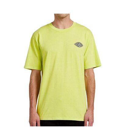 T-shirt Vert Homme Volcom Vision